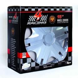 "Set Copricerchi 15"" 4 Racing"